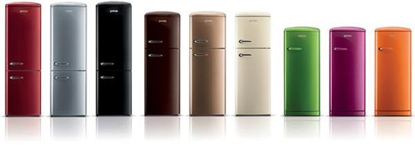 bunte kühlschränke